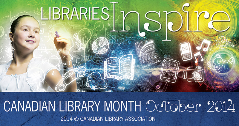 Share Your Story for Canadian Library Month!