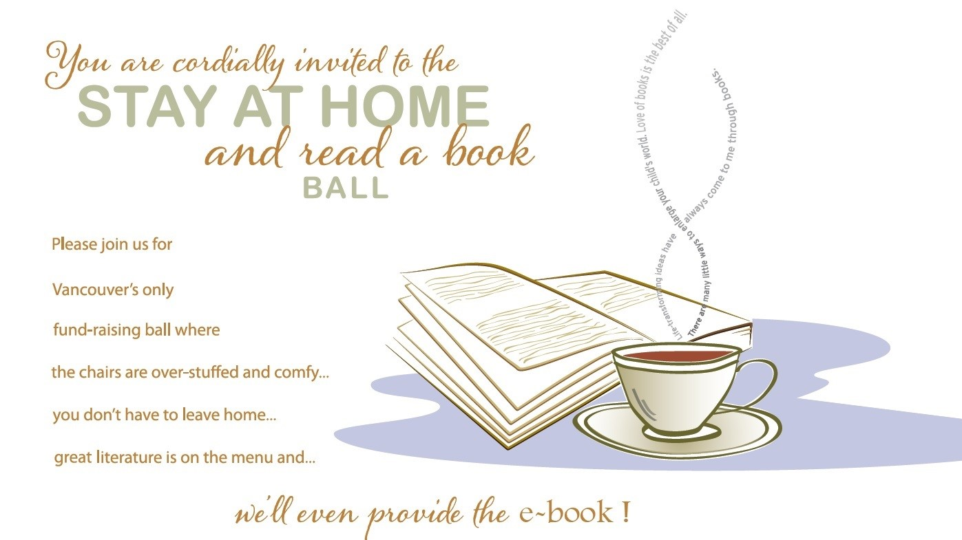 The Stay at Home and Read a Book Ball