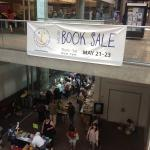 Thanks to everyone for another sucessful book sale!