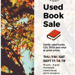 Fall Used Book Sale