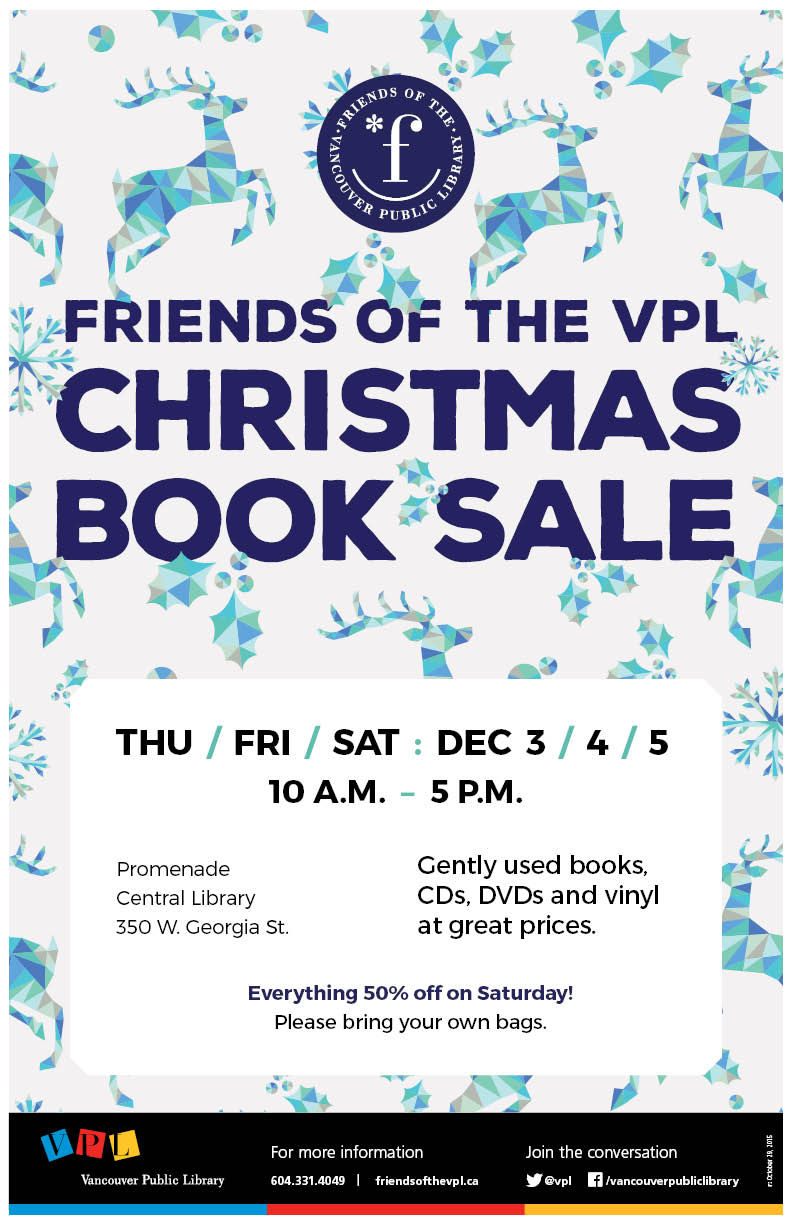 Friends of the VPL Christmas Book Sale