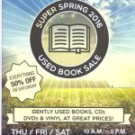 Spring Used Book Sale