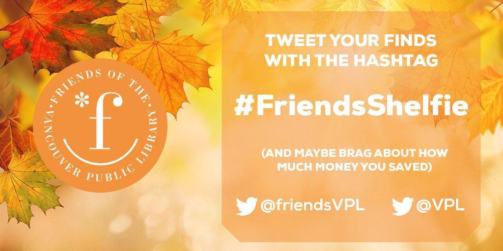 Friends Fall Book Sale!