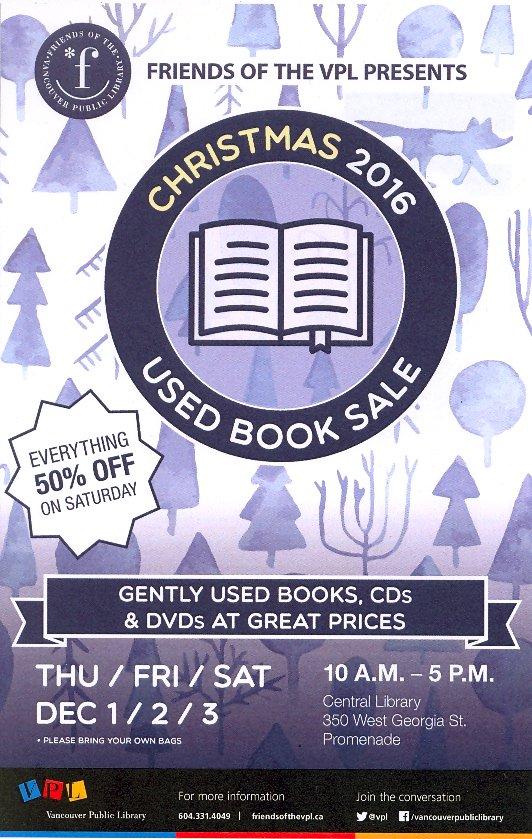 Friends Christmas Book Sale!