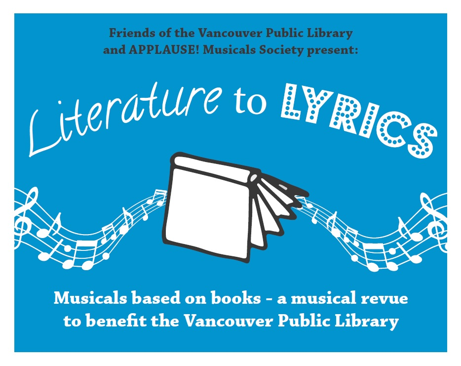 Literature to Lyrics-This Saturday!