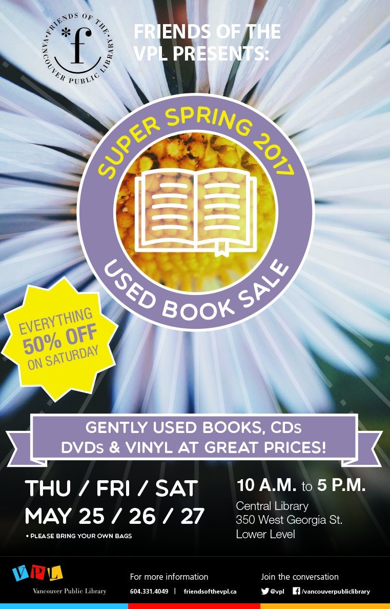 Friends Super Spring Book Sale!