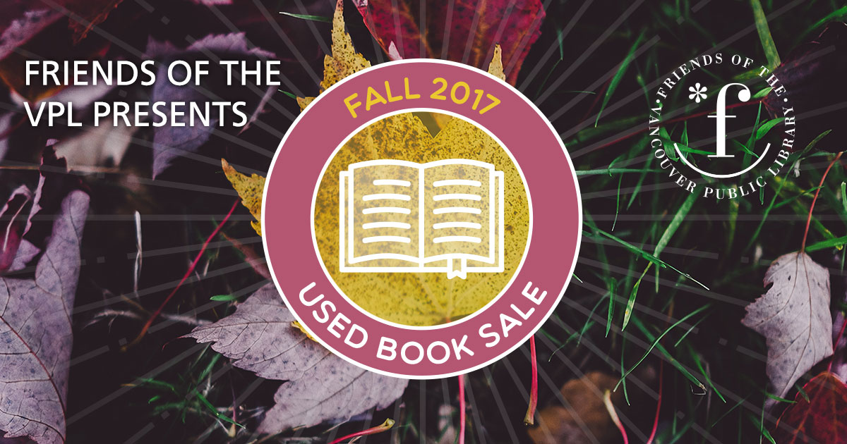 Friends Fall Book Sale