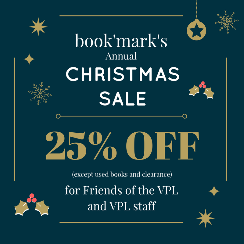 book'mark Annual Member's-Only Christmas Sale!