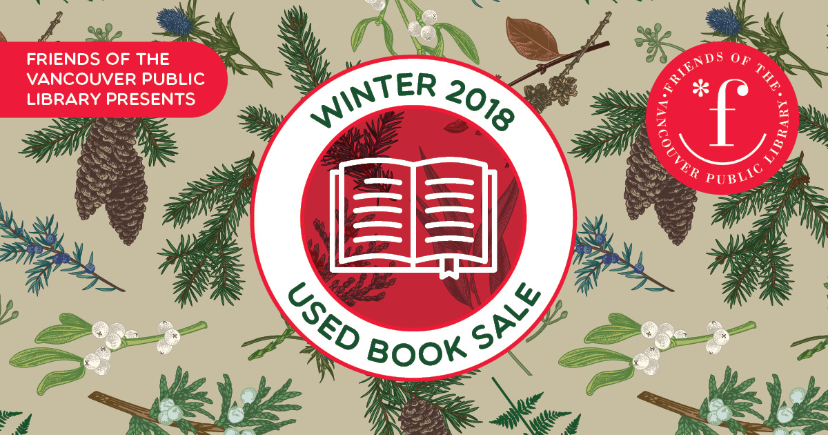 Friends Winter Book Sale 2018