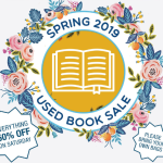Spring Used Book Sale – May 2019
