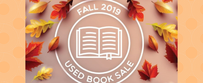 Fall Used Book Sale – September 2019