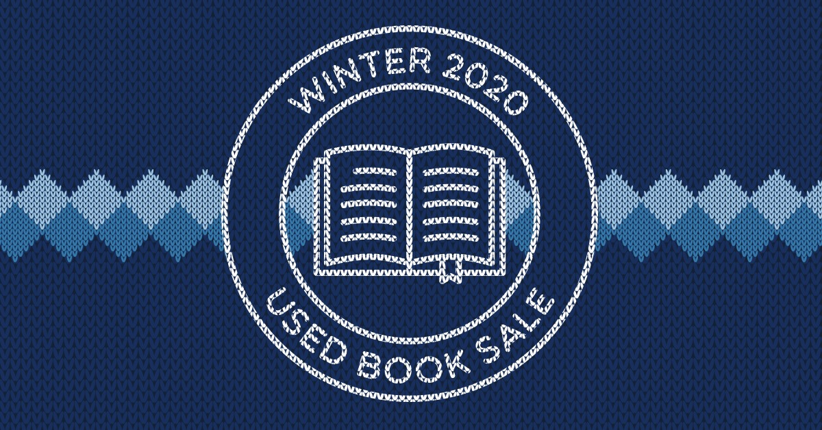 Winter Used Book Sale – January 2020