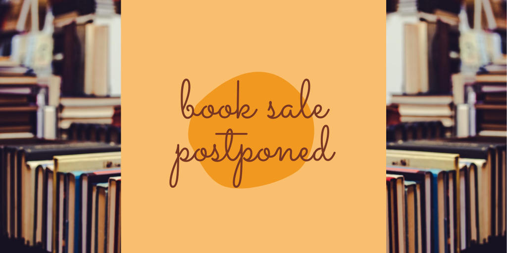 Fall Book Sale Postponed