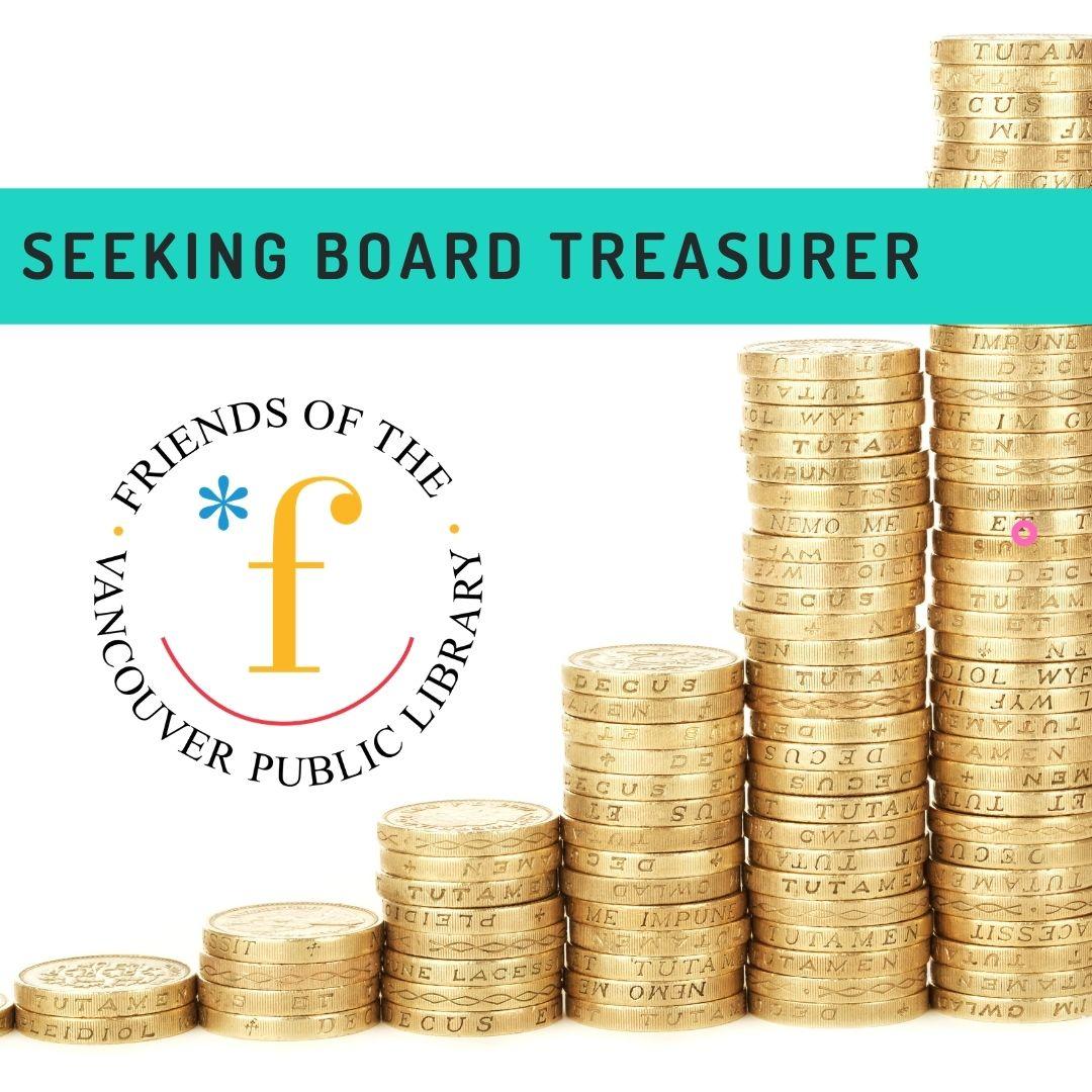 Seeking board treasurer