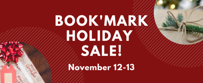 book'mark holiday sale