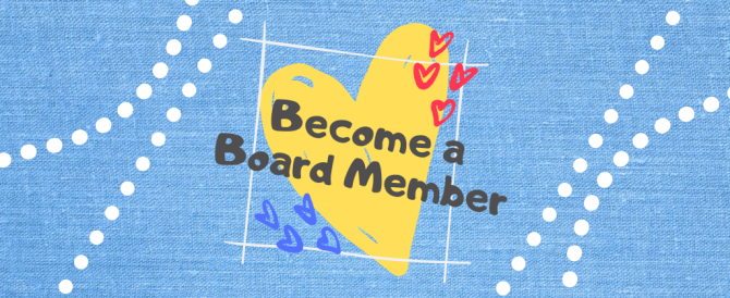 Friends is searching for new board members!