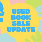 Used Book Sale Update