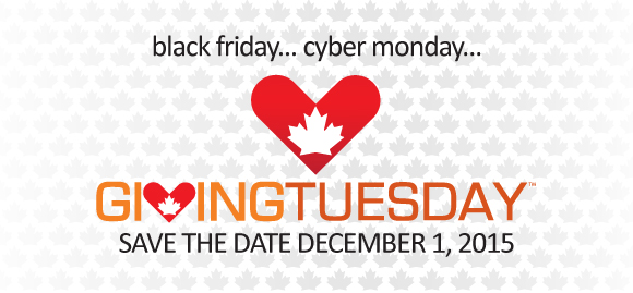 December 1st is Giving Tuesday